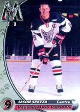 2000-01 Mississauga Ice Dogs #23 Jason Spezza