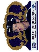 2001 Crown Royale Calder Collection All-Star Edition Gold #C6 Brad Richards