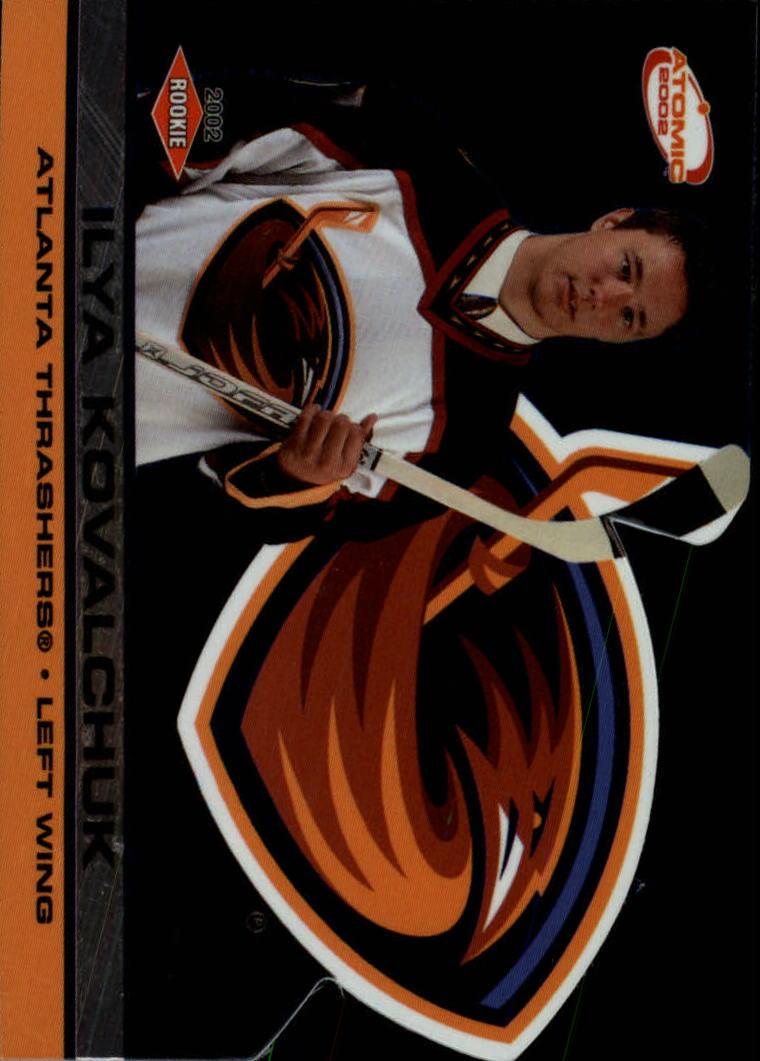 2001-02 Atomic #104 Ilya Kovalchuk RC