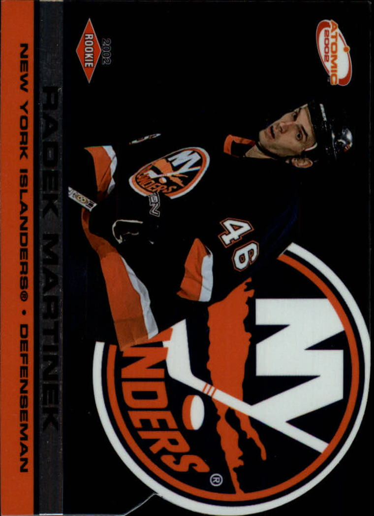 2001-02 Atomic #115 Radek Martinek RC