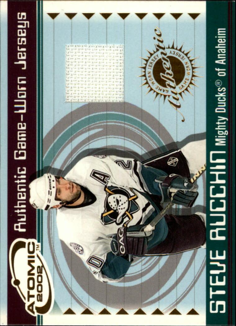 2001-02 Atomic Jerseys #2 Steve Rucchin
