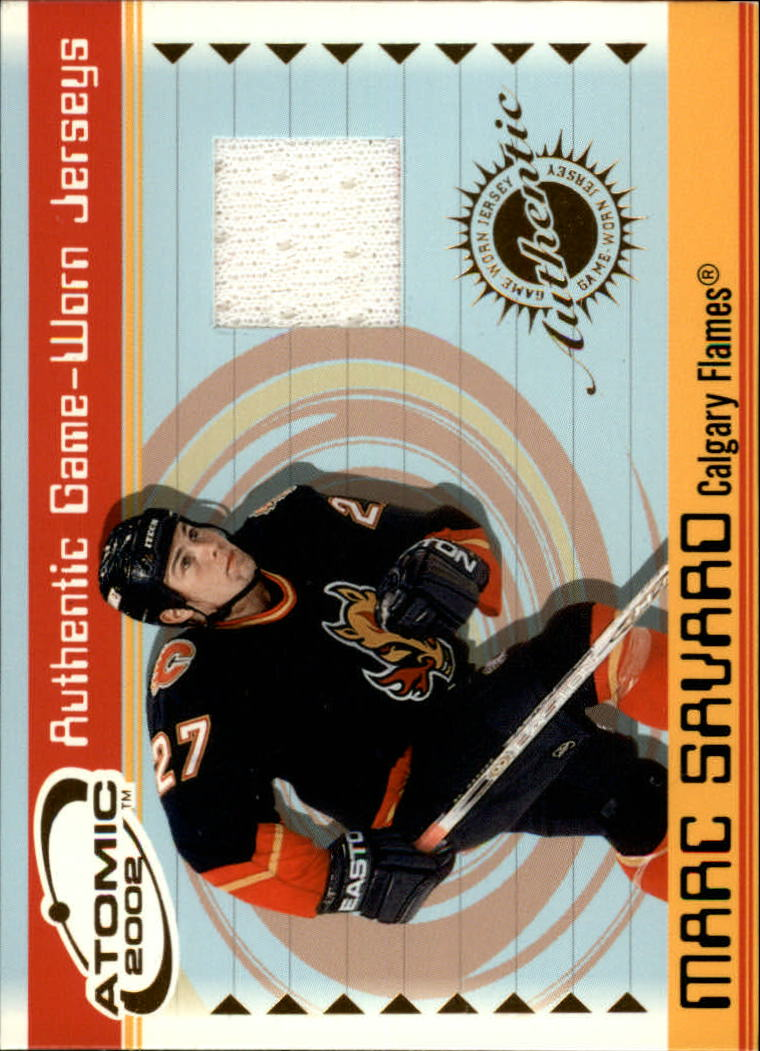 2001-02 Atomic Jerseys #6 Marc Savard