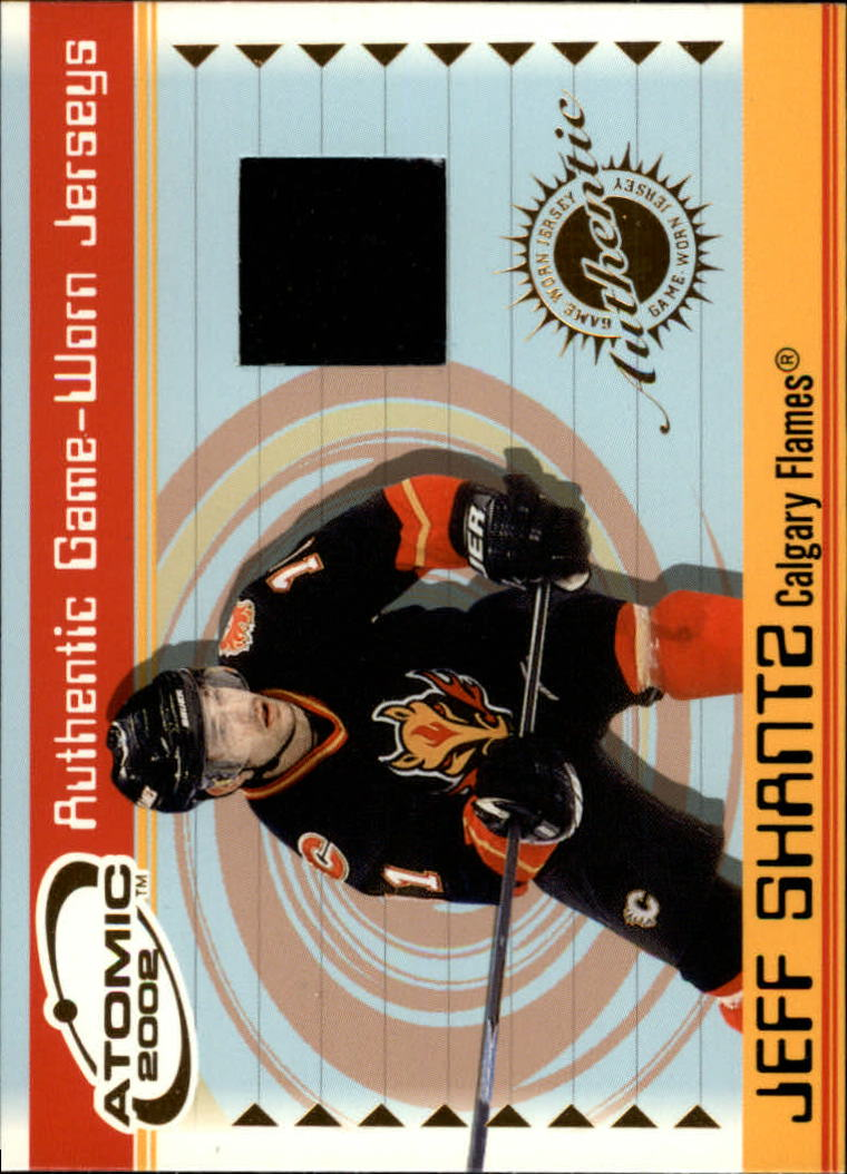 2001-02 Atomic Jerseys #7 Jeff Shantz