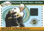 2001-02 Atomic Jerseys #17 Benoit Hogue