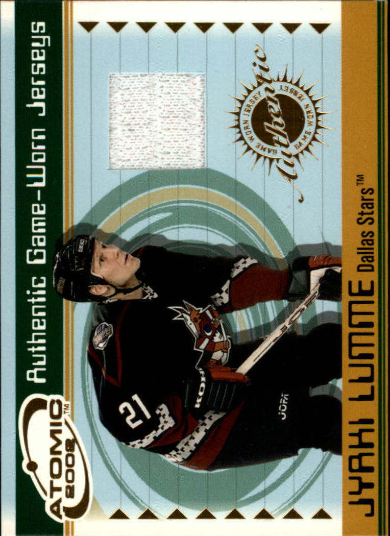 2001-02 Atomic Jerseys #18 Jyrki Lumme