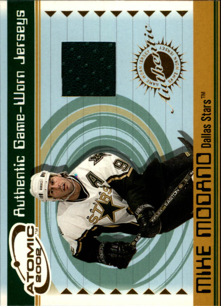 2001-02 Atomic Jerseys #19 Mike Modano