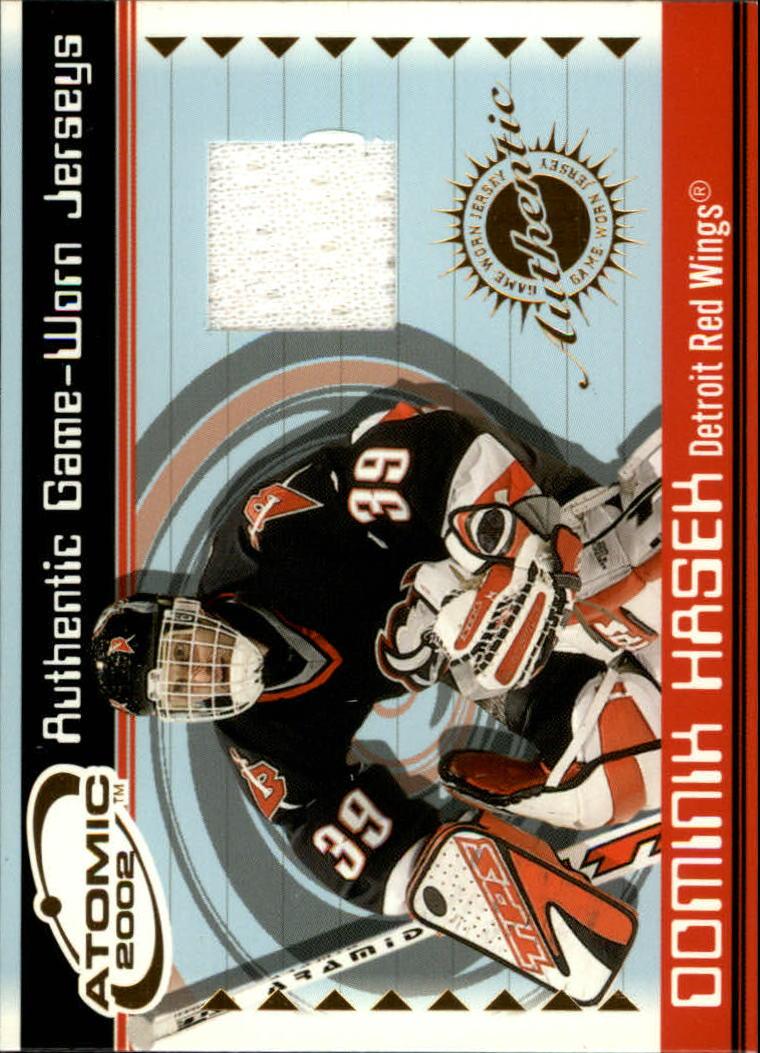 2001-02 Atomic Jerseys #22 Dominik Hasek