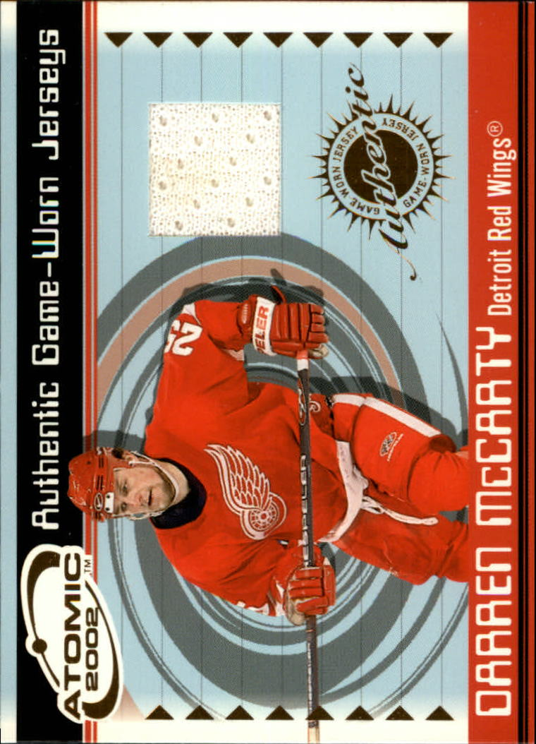 2001-02 Atomic Jerseys #23 Darren McCarty