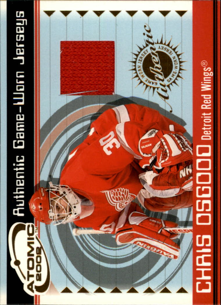 2001-02 Atomic Jerseys #24 Chris Osgood