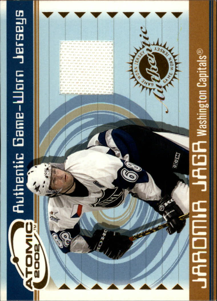 2001-02 Atomic Jerseys #50 Jaromir Jagr