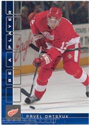 2001-02 BAP Memorabilia Sapphire #303 Pavel Datsyuk