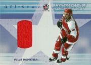 2001-02 BAP Memorabilia All-Star Jerseys #ASJ27 Pavol Demitra