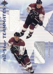 2001-02 BAP Memorabilia All-Star Teammates #AST41 Joe Sakic/Mike Modano