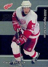 2001-02 BAP Signature Series #233 Pavel Datsyuk RC