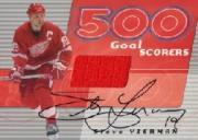 2001-02 BAP Signature Series 500 Goal Scorers Autographs #2 Steve Yzerman