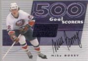 2001-02 BAP Signature Series 500 Goal Scorers Autographs #10 Mike Bossy