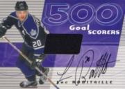 2001-02 BAP Signature Series 500 Goal Scorers Autographs #11 Luc Robitaille