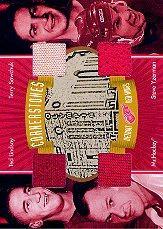 2001-02 BAP Ultimate Memorabilia Cornerstones #4 Ted Lindsay/Gordie Howe/Terry Sawchuk/Steve Yzerman