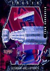 2001-02 BAP Ultimate Memorabilia Dynasty Emblems #4 Yvan Cournoyer