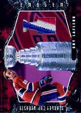 2001-02 BAP Ultimate Memorabilia Dynasty Emblems #6 Guy Lafleur