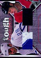 2001-02 BAP Update Tough Customers #TC11 Tie Domi/Rob Ray