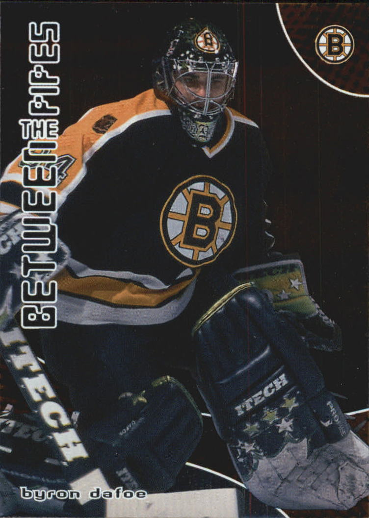 2001-02 Between the Pipes #8 Byron Dafoe