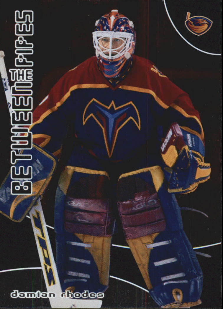 2001-02 Between the Pipes #24 Damian Rhodes