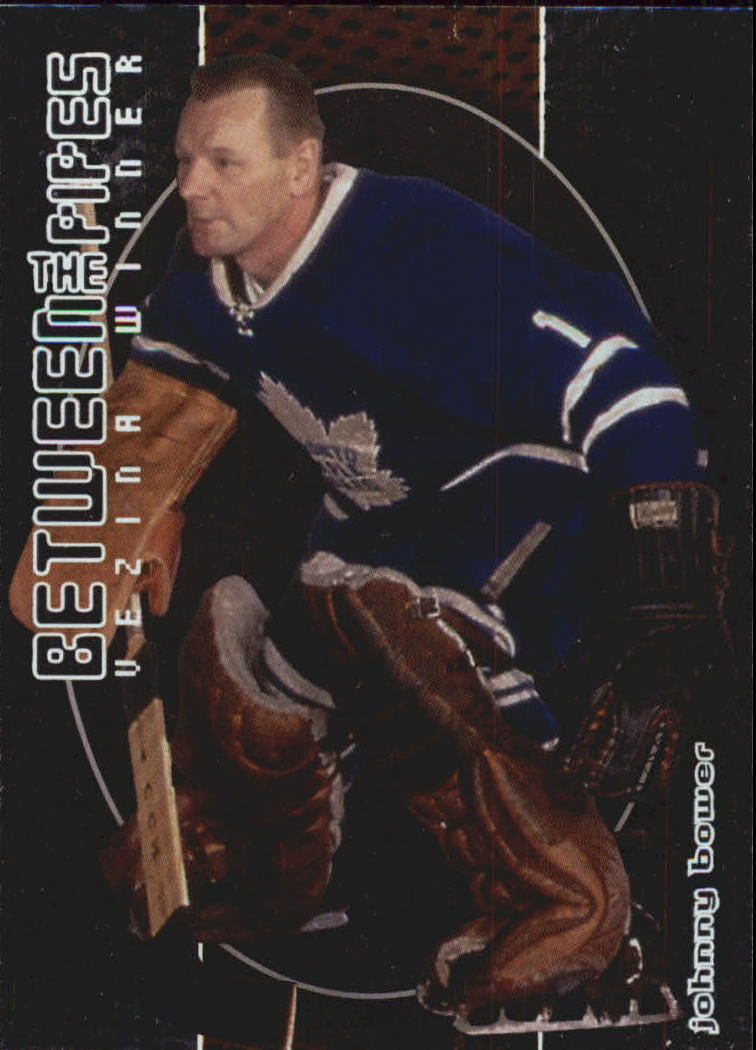 2001-02 Between the Pipes #123 Johnny Bower