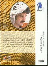 2001-02 Between the Pipes #138 Bernie Parent back image