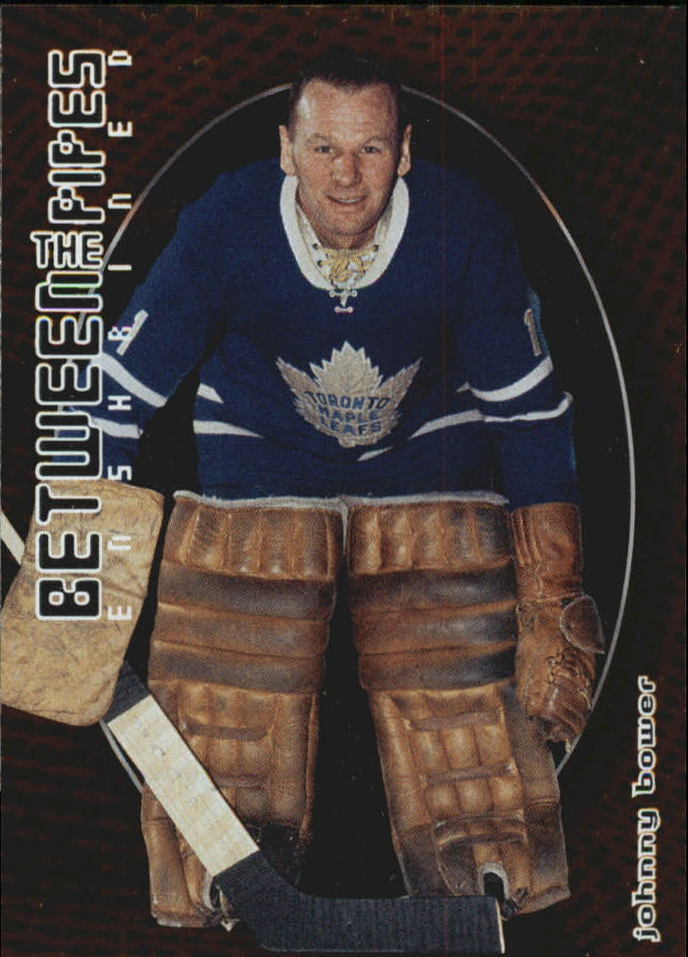 2001-02 Between the Pipes #149 Johnny Bower