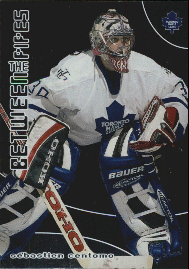 2001-02 Between the Pipes #158 Sebastien Centomo RC