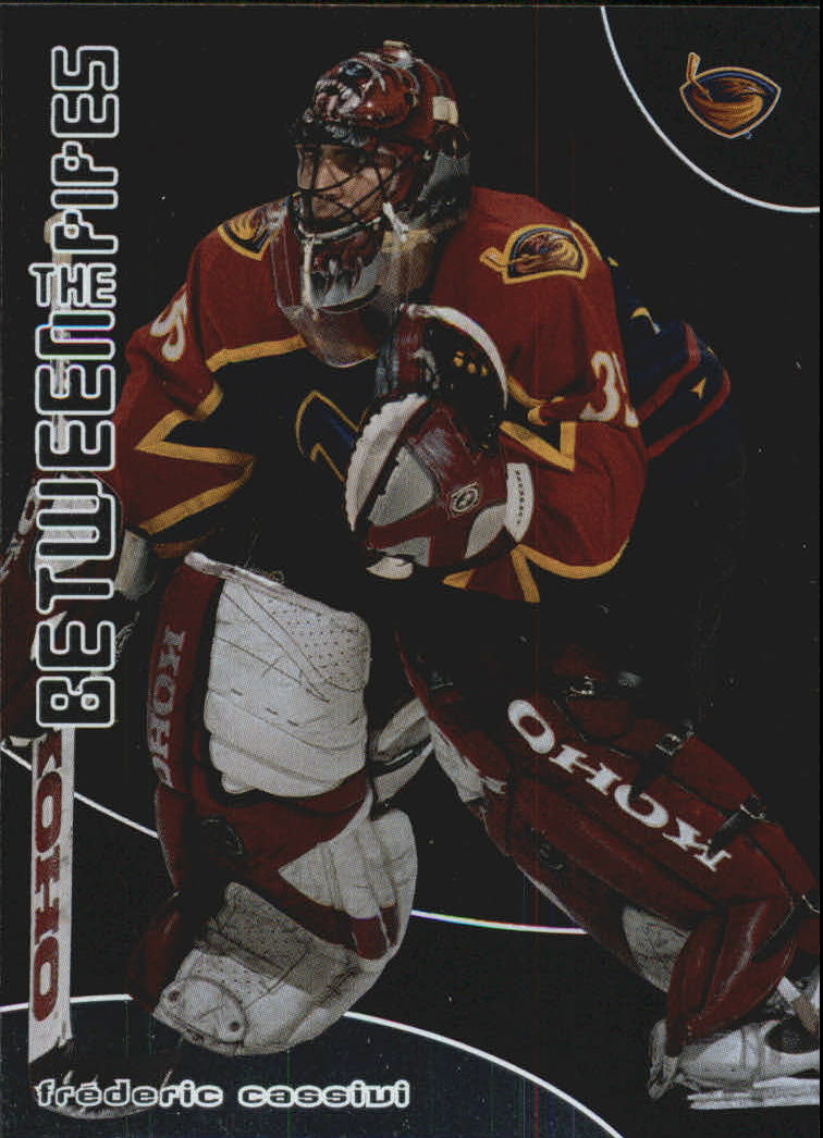 2001-02 Between the Pipes #161 Frederic Cassivi RC