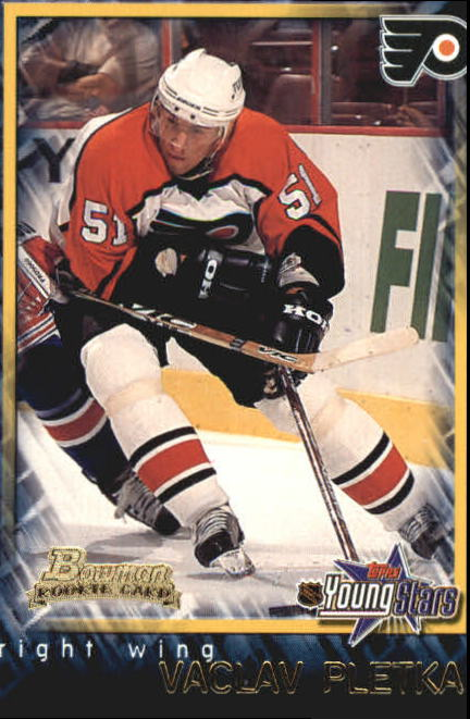 2001-02 Bowman YoungStars #121 Vaclav Pletka RC