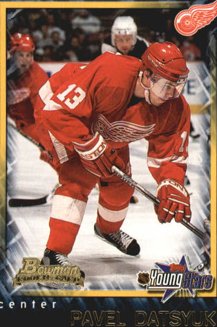 2001-02 Bowman YoungStars #165 Pavel Datsyuk RC