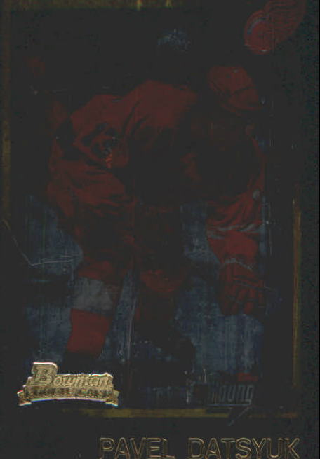 2001-02 Bowman YoungStars Ice Cubed #165 Pavel Datsyuk