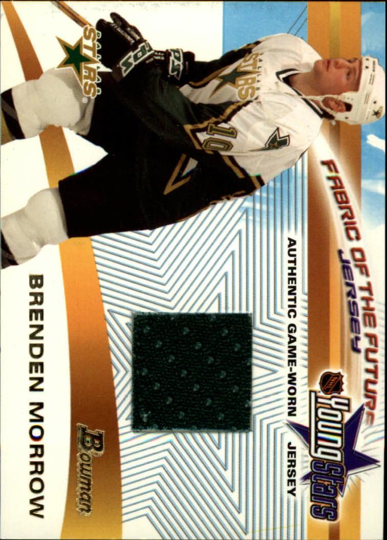 2001-02 Bowman YoungStars Relics #JBM Brenden Morrow J