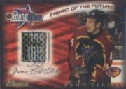2001-02 Bowman YoungStars Relics #SDH Dany Heatley S