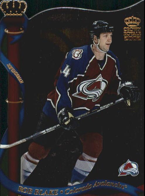 2001-02 Crown Royale #35 Rob Blake