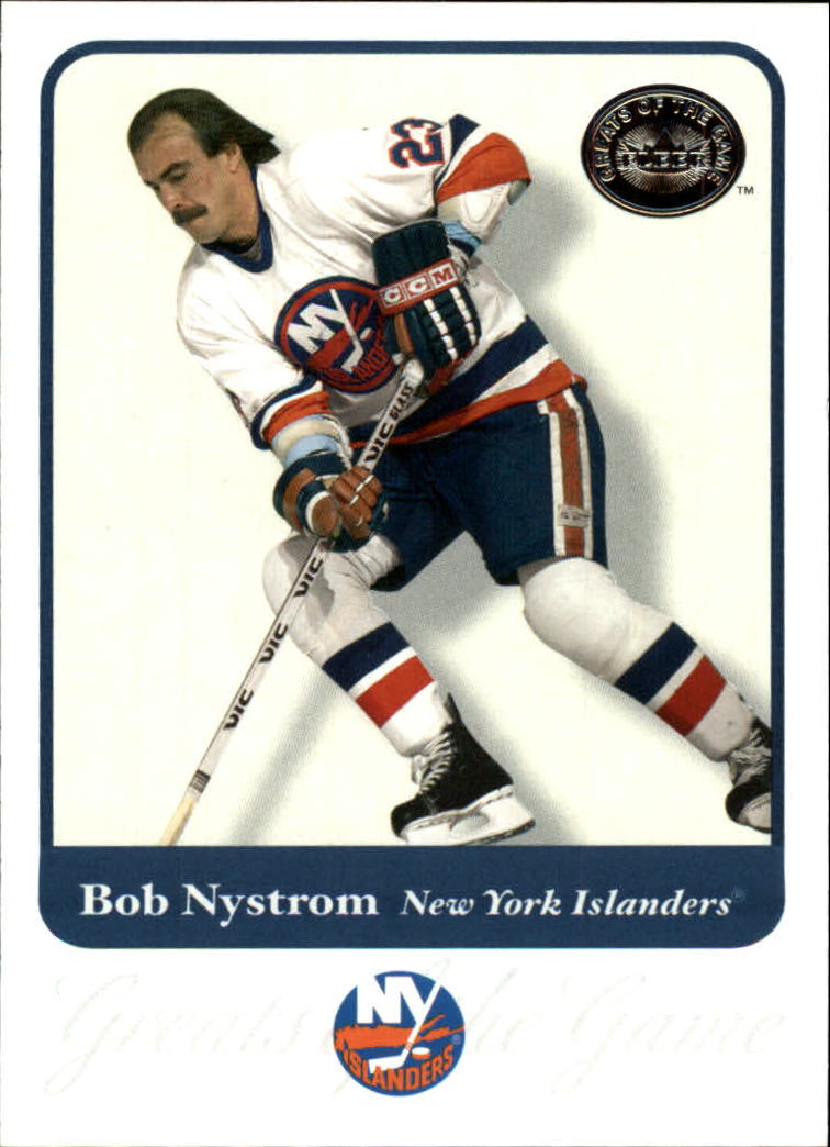 2001-02 Greats of the Game #4 Bob Nystrom