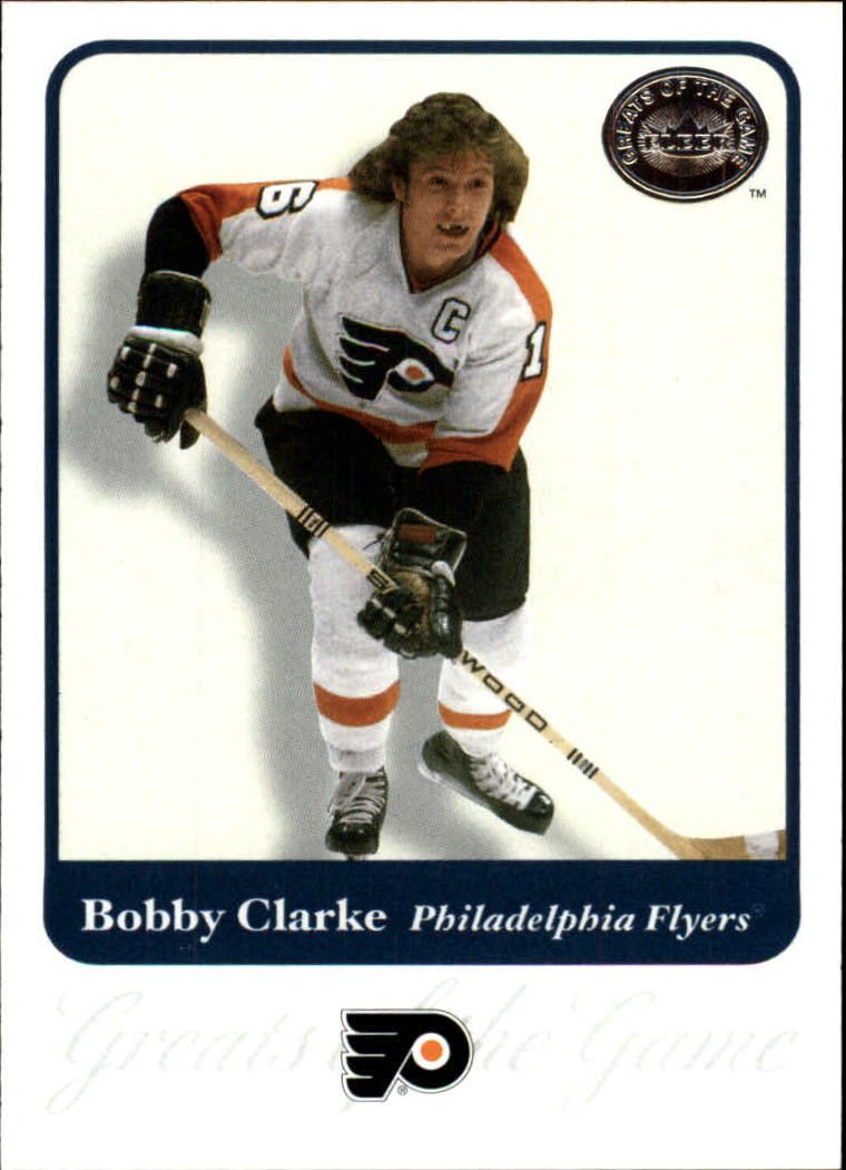 2001-02 Greats of the Game #33 Bobby Clarke