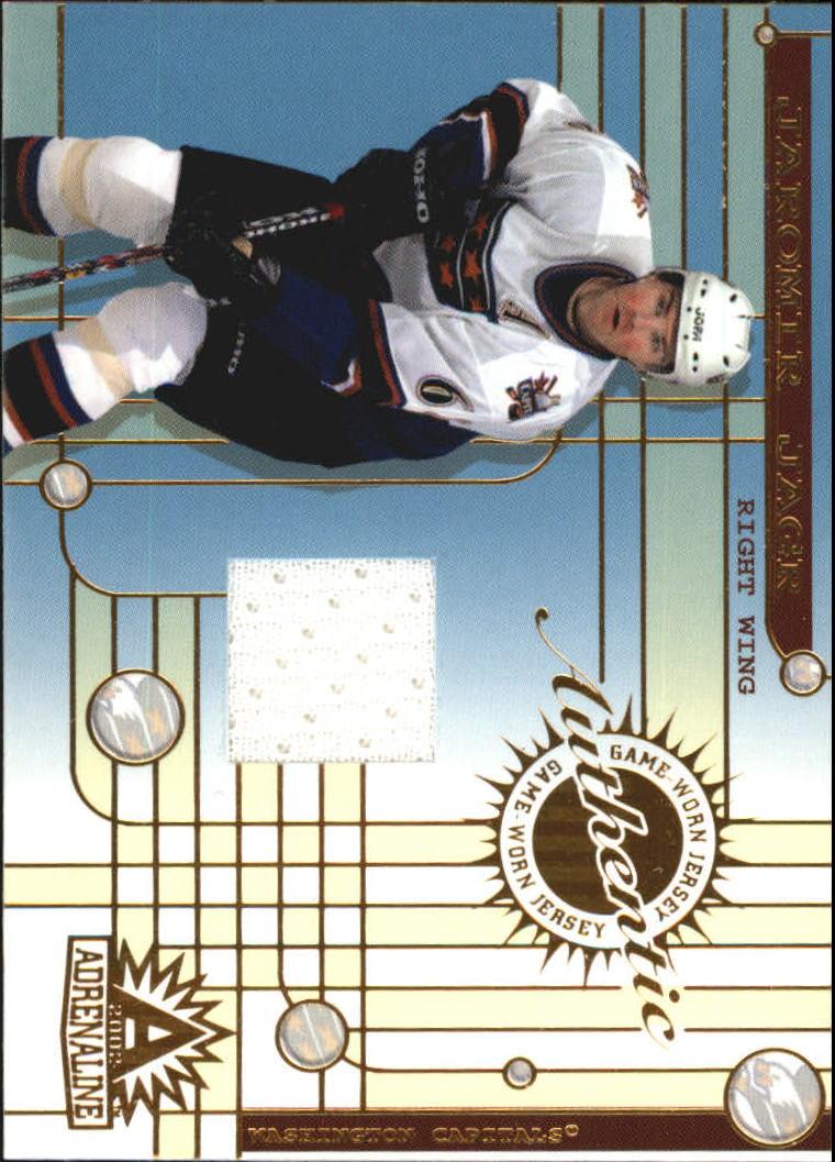 2001-02 Pacific Adrenaline Jerseys #50 Jaromir Jagr