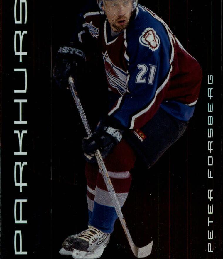 2001-02 Parkhurst #8 Peter Forsberg