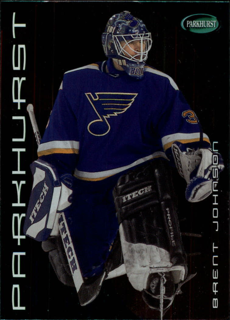 2001-02 Parkhurst #57 Brent Johnson