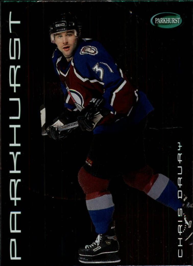 2001-02 Parkhurst #91 Chris Drury