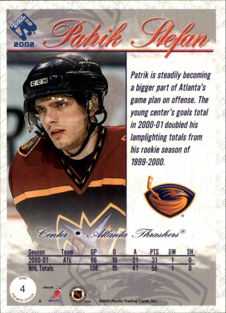 2001-02-Private-Stock-Hockey-Cards-Pick-From-List miniature 7