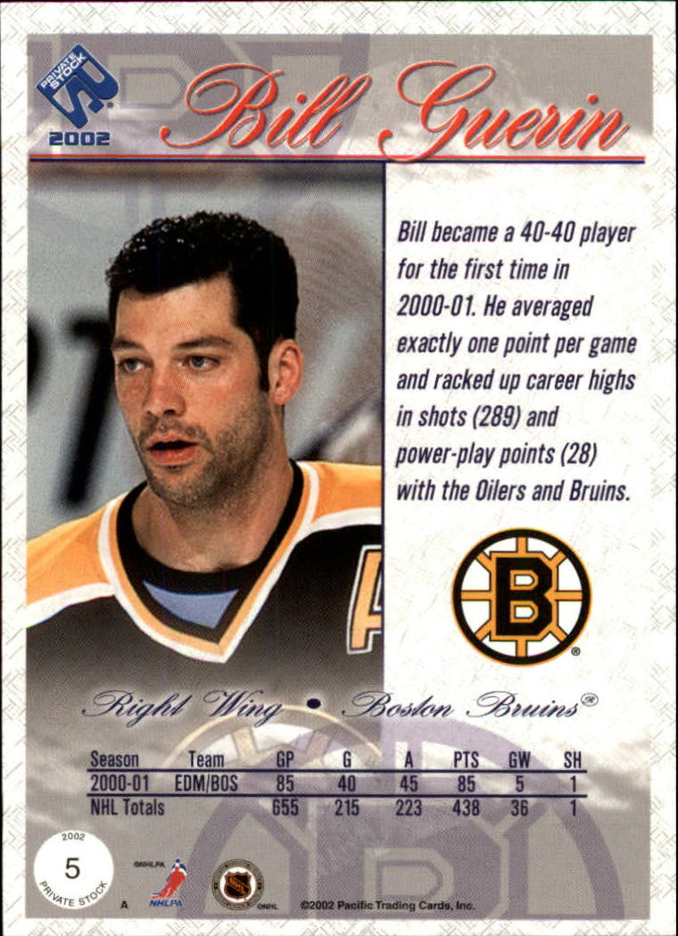 2001-02-Private-Stock-Hockey-Cards-Pick-From-List miniature 9