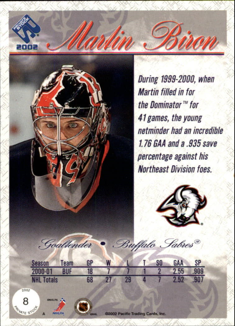 2001-02-Private-Stock-Hockey-Cards-Pick-From-List miniature 13