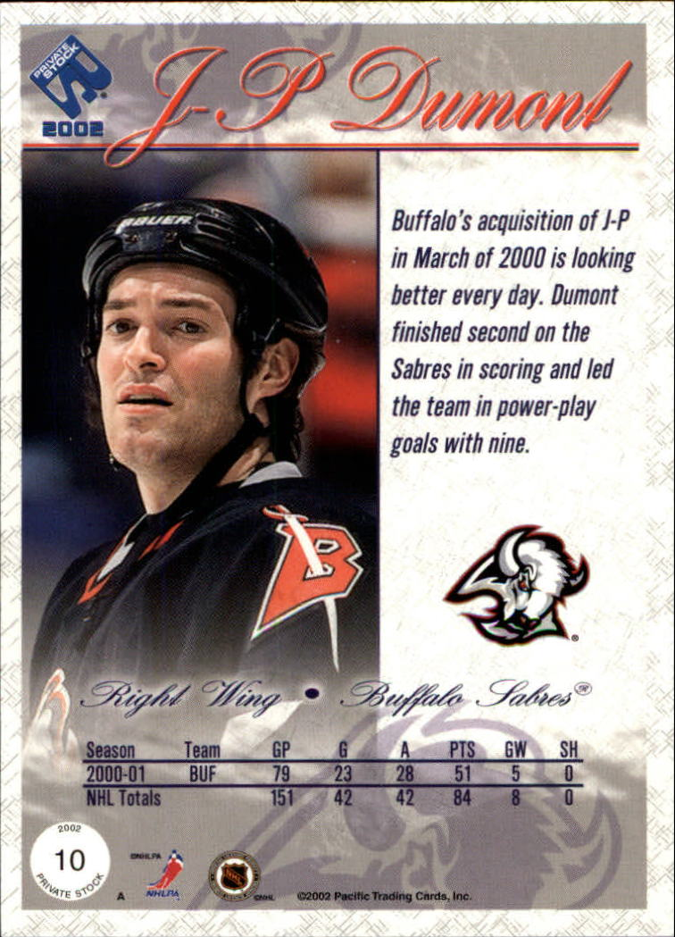 2001-02-Private-Stock-Hockey-Cards-Pick-From-List miniature 17