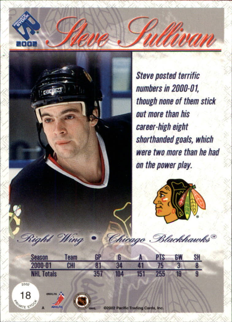2001-02-Private-Stock-Hockey-Cards-Pick-From-List miniature 27