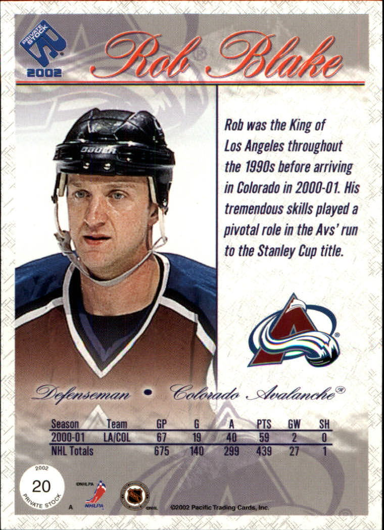 2001-02-Private-Stock-Hockey-Cards-Pick-From-List miniature 31
